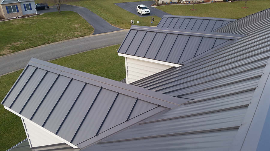 View Our Metal Roofing Work Weaver S Construction Inc